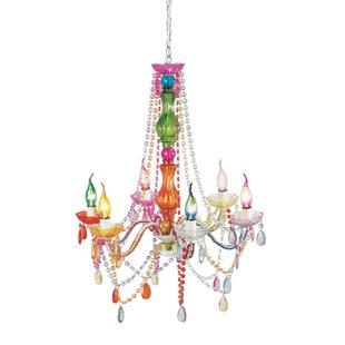 Multi coloured chandeliers wayfair save to idea board clear multi aloadofball Gallery