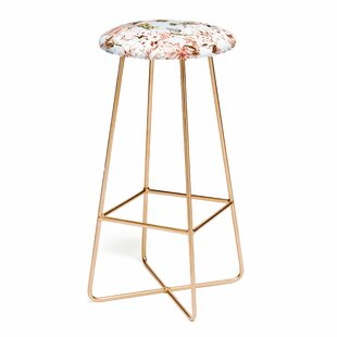 Marta Barragan Camarasa Wild Botanical Garden I 25 Bar Stool East Urban Home