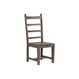 Gracie Oaks Vanwyk Solid Wood Dining Chair