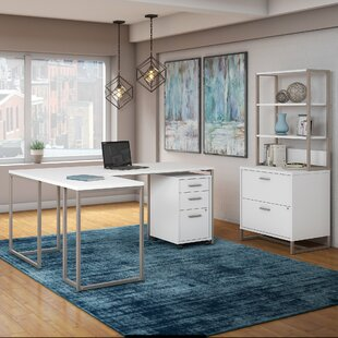 Method 3 Piece L-Shaped Desk Office Suite