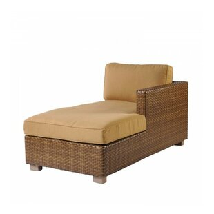 Sedona Right Arm Facing Chaise Lounge With Cushion by Woodard Today Only Sale