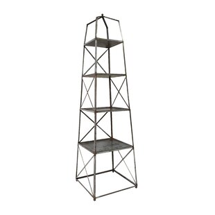 Elser 4 Tier Shelf Etagere Bookcase