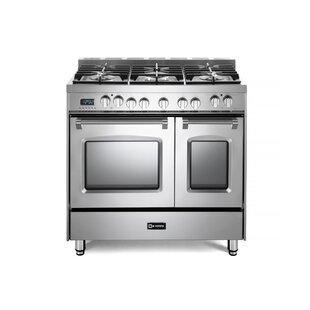 36 Prestige Dual Fuel Double Oven Range