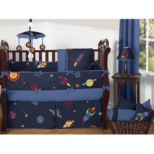 Space Galaxy 9 Piece Crib Bedding Set