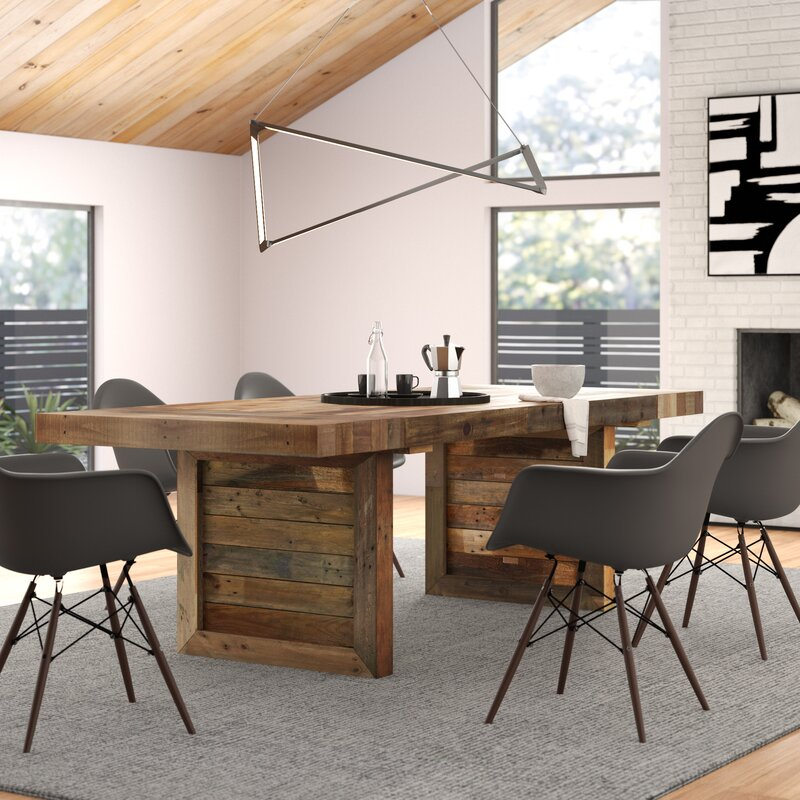 Triston Extendable Solid Wood Dining