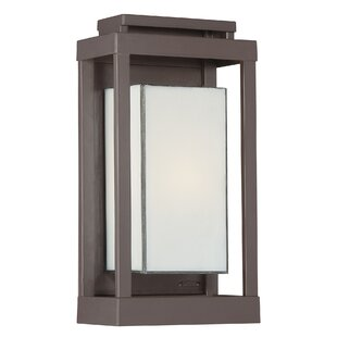 Inexpensive Wilcoxon 1-Light Outdoor Flush Mount By Three Posts