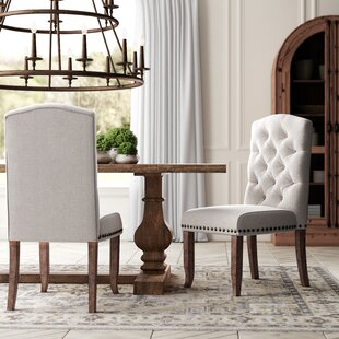 Lakeport Upholstered Dining Chair (Set of 2) Greyleigh