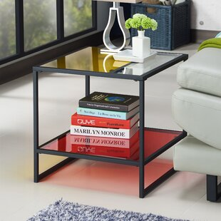Leetsdale Contemporary End Table
