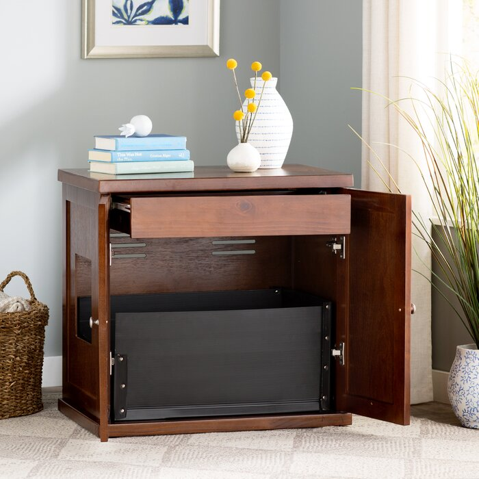 cathey wooden litter box cabinet