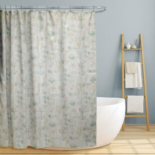 Avila Fun Nautical Single Shower Curtain by Longshore Tides Amazing