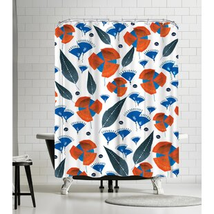 Rebecca Prinn Flower Mill Single Shower Curtain