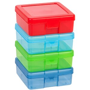 Small Modular Supply Plastic Craft Case  sc 1 st  Wayfair.com & Plastic Storage Bins u0026 Totes Youu0027ll Love | Wayfair Aboutintivar.Com