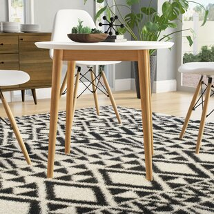 Bedolla Mid Century Round Dining Table By Mikado Living