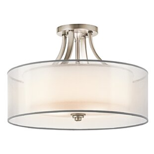 Lightle 4-Light Semi Flush Mount by Darby Home Co