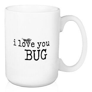 I Love You Bug 15 Oz Coffee Mug