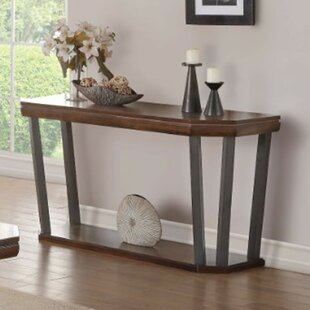Buchholz Octagon Shaped Console Table