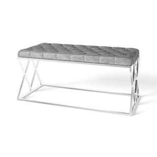 Gattis Upholstered Bench By Wade Logan