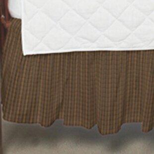 Plaid Fabric Crib Dust Ruffle ByPatch Magic