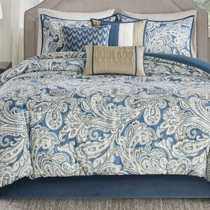 Comforter Sets Youll Love Wayfair - Blue bedding and comforter sets
