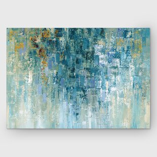 779c46899fe  I Love the Rain  Painting Print on Wrapped Canvas
