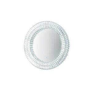 Reviews Grijalva Illuminated Bathroom/Vanity Mirror ByRosdorf Park