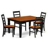 Villar 5 Piece Dining Set by Red Barrel Studio®
