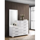 Candance 8 Drawer Chest with Mirror by Orren Ellis