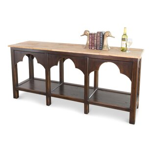 Almeida Railroad Trestle Console Table