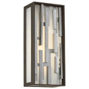 Augustine 1-Light Outdoor Flush Mount By Wade Logan Outdoor Lighting