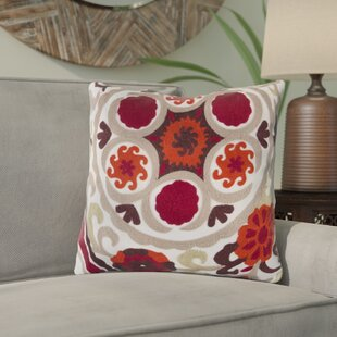 Ismael Suzani Throw Pillow
