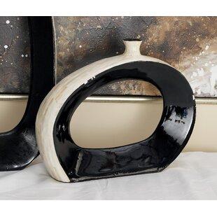 Ceramic Inlay Vase
