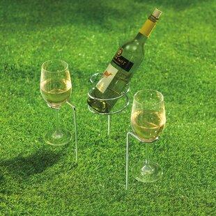 Renken Steady Sticks 1 Bottle Floor Wine Bottle Rack (Set of 2)