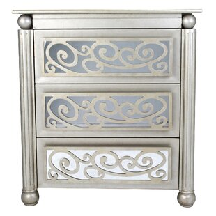 Rosdorf Park Alleyne 3 Drawer Accent Chest