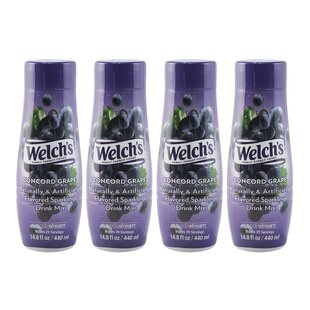 Welch's® Concord Grape Sparkling Drink Mix (Set of 4)
