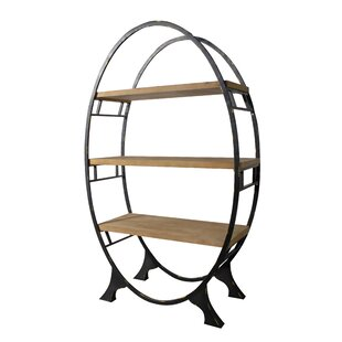 Melfa Oval Geometric Bookcase By Gracie Oaks