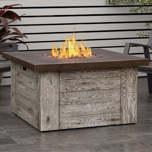 Forest Ridge Polyresin Propane Fire Pit Table