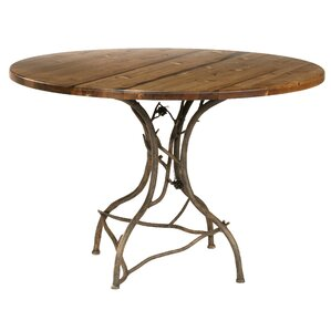 Breakfast Dining Table by Stone County Ironworks