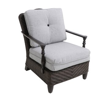 Bungalow Patio Chair with Cushion (Set of 2)
