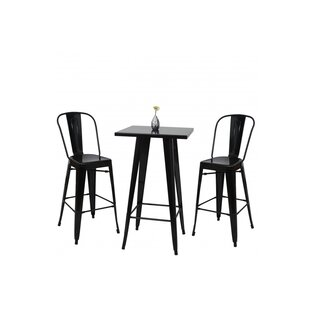 Soham Dining Set With 2 Stools By Sol 72 Outdoor
