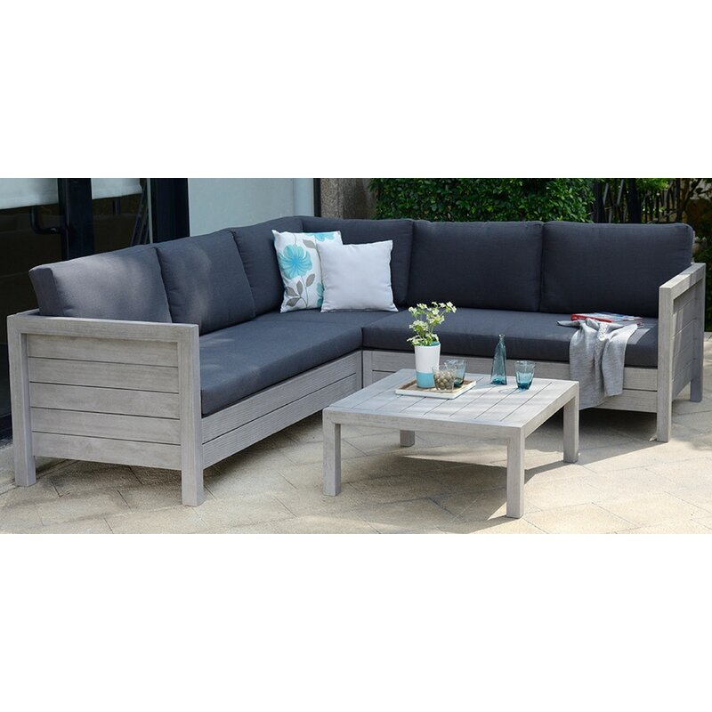 Delano 4 Seater Corner Sofa Set
