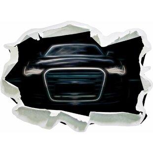 Dark Audi A8 Wall Sticker By East Urban Home
