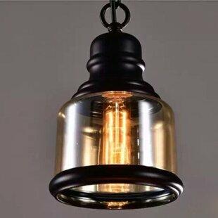 Gracie Oaks Nowak 1-Light Bell Pendant