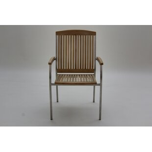 Mashburn Stacking Garden Chair By Ebern Designs