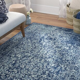Affordable Elson Navy Area Rug By Mistana