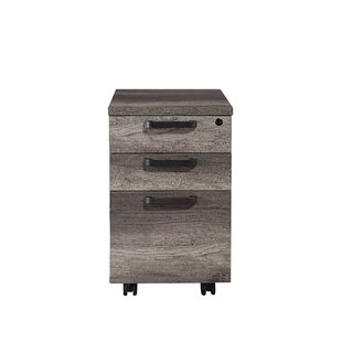 Arkin 3-Drawer Mobile Vertical Filing Cabinet