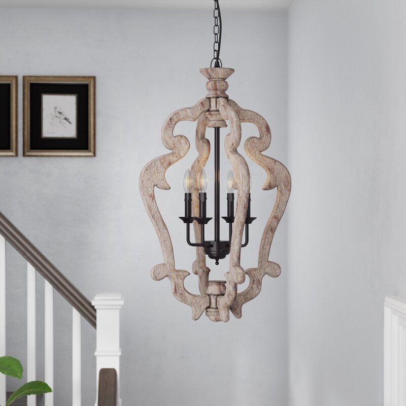 Montigny 4 Light Foyer Pendant