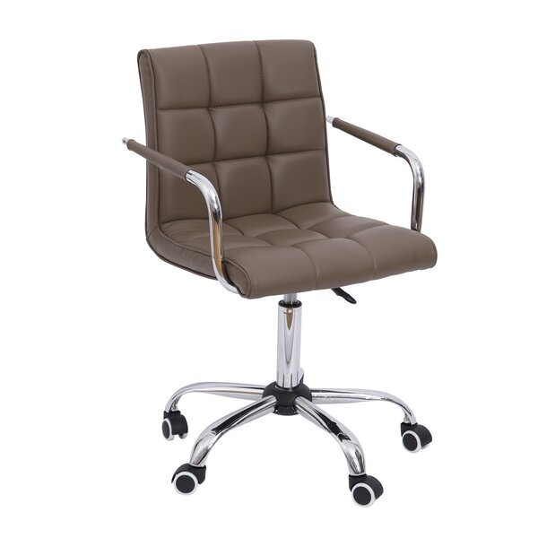 homcom mid-back desk chair & reviews | wayfair