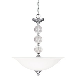 House of Hampton Astoria 3-Light Bowl Pendant