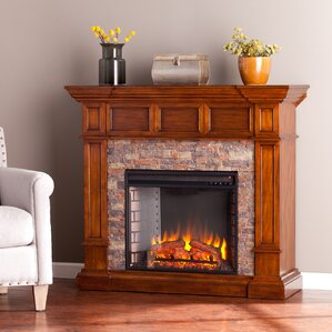 prussia corner convertible electric fireplace