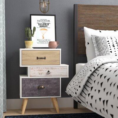 Nachttisch Avalon | Schlafzimmer > Nachttische | Cream | Norden Home